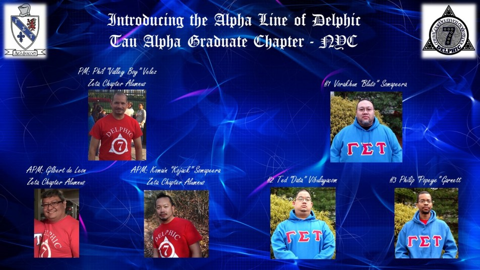 Crossing Flier - Tau Alpha